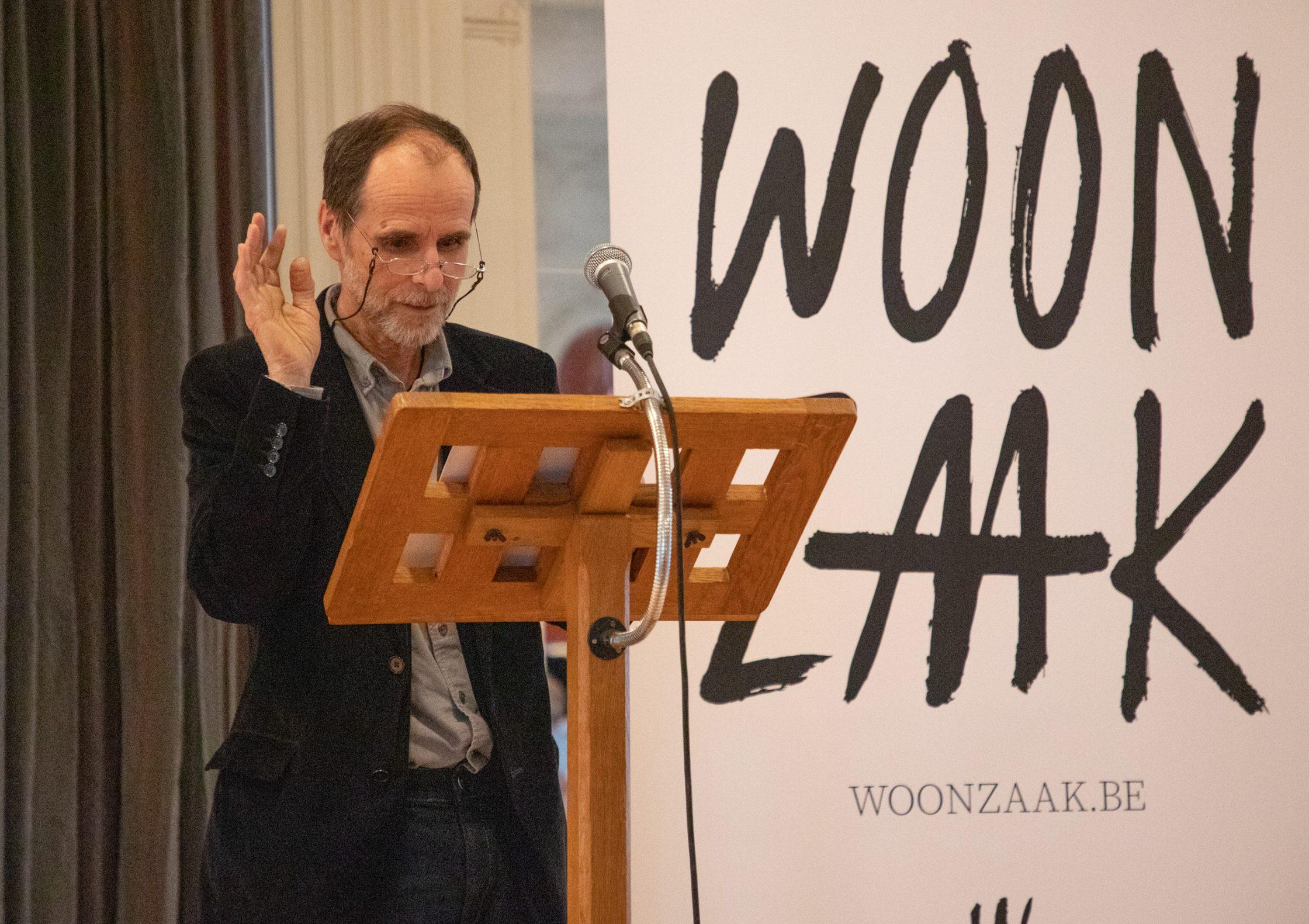 Hugo Beersman, woordvoerder van de Woonzaak